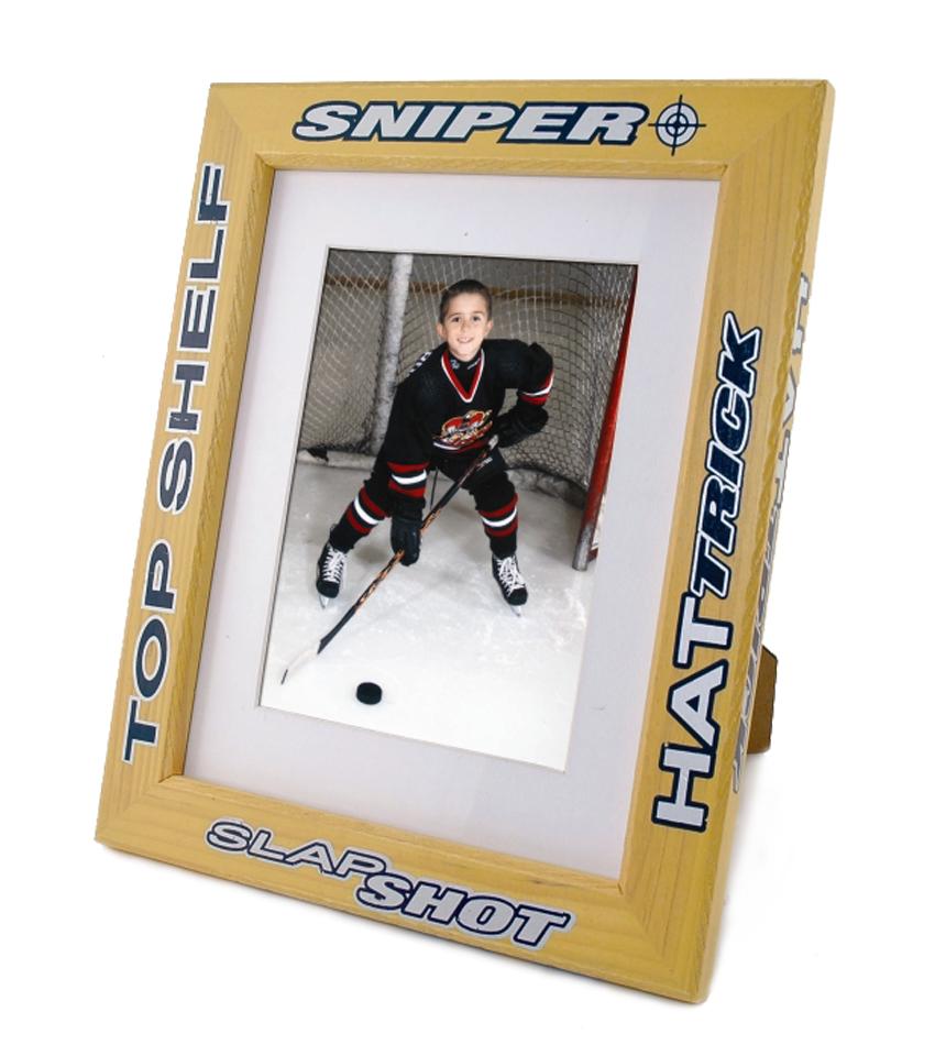 Hockey Stick Style Photo Frame | NiceRink