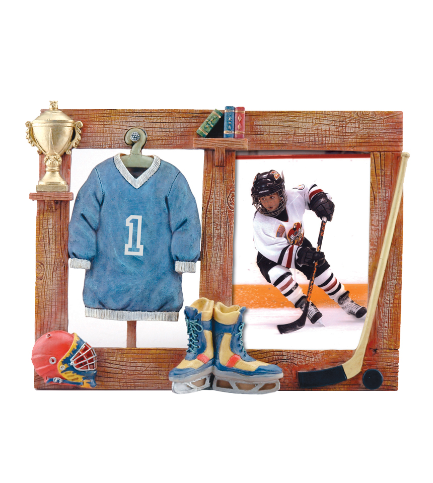 Hockey Themed Picture Frame | NiceRink
