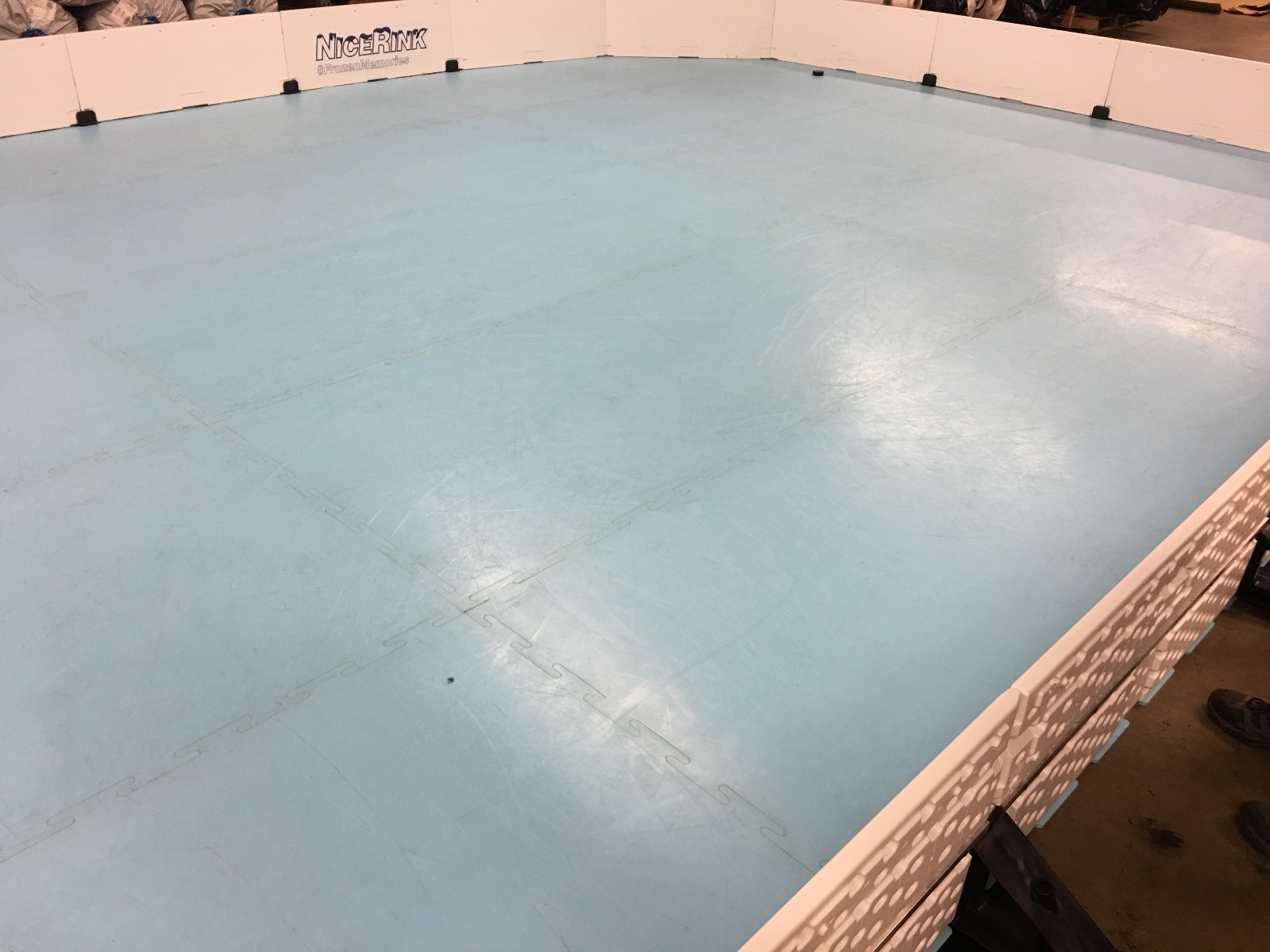 """NiceIce Synthetic Ice 4' x 10' Panel (10 years """"per side"""") by NiceRink"""