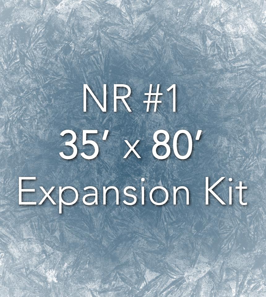 NiceRink 35' X 80' Expansion Kit