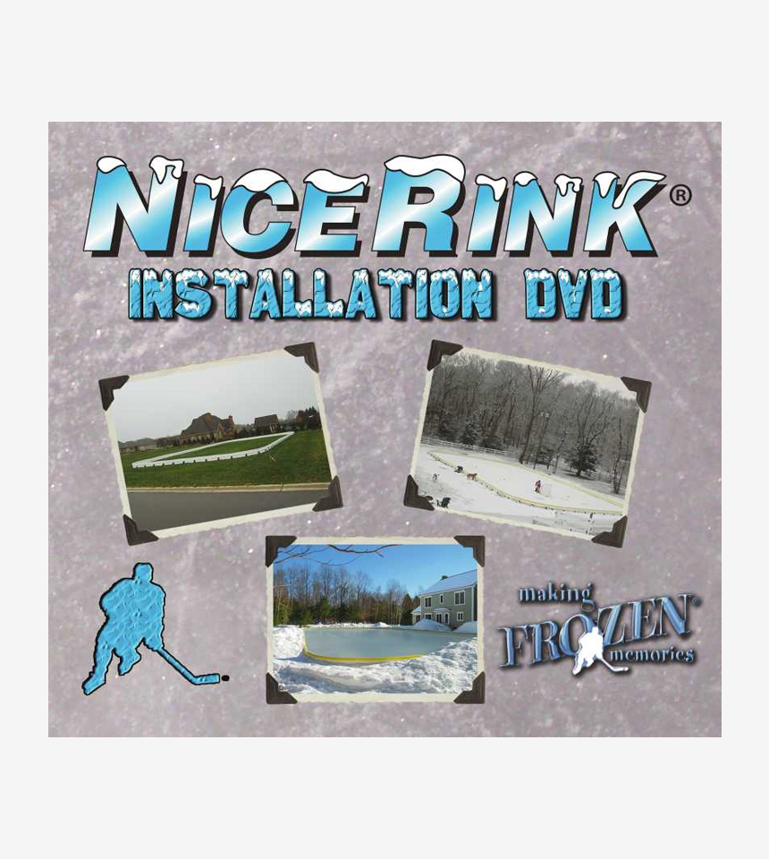 NiceRink Installation DVD FREE with Gold/Silver Packages by NiceRink