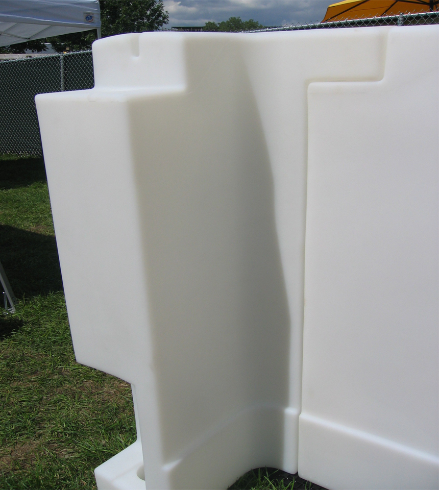 """Pro-Wall, Molded Boards 42"""" High x 8'"""