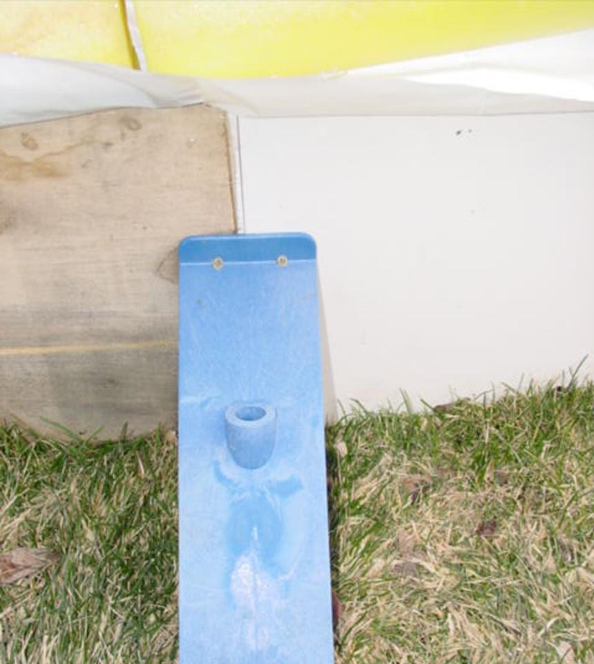 """Radius Flexible Corner Board 8' x 12"""" Tall"""