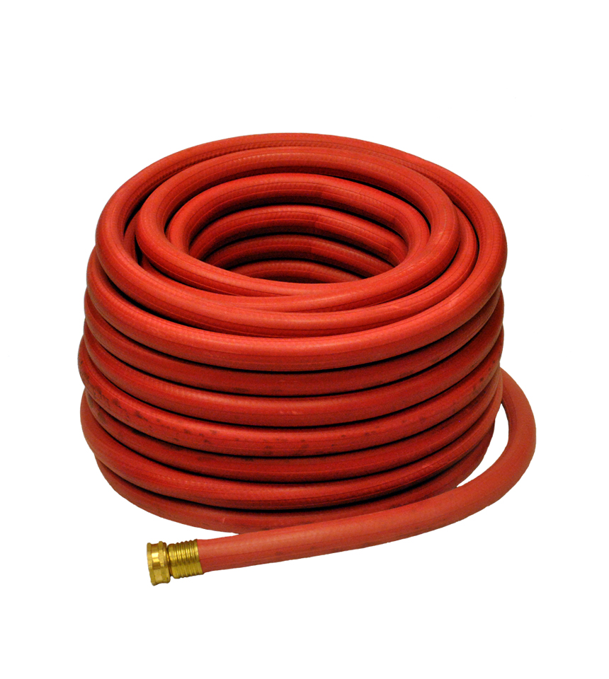"Rubber Red 5/8""x 50' Hose by NiceRink"